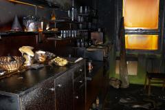 Požár kabin